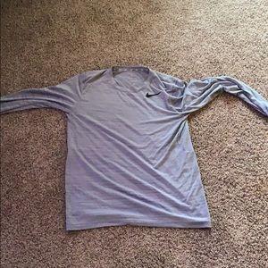 Long sleeve Nike tee size medium